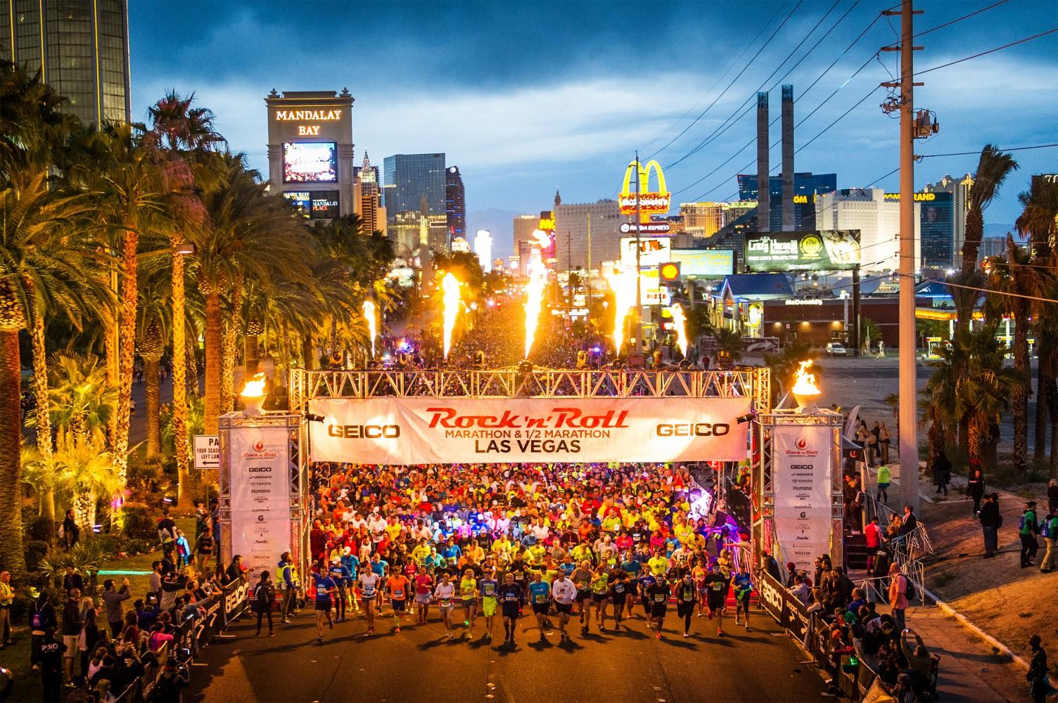 Las Vegas Rock 'N' Roll Marathon