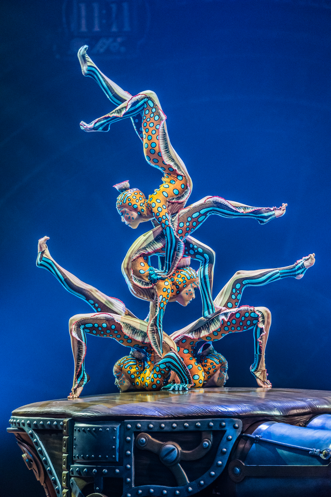 An act from Kurios – Cabinet of Curiosities, Cirque de Soleil. Photo courtesy of Cirque du Soleil.