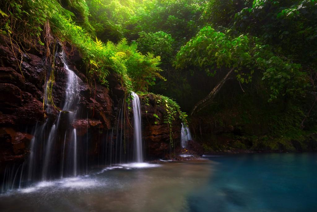 Afu Aau Waterfall, Samoa