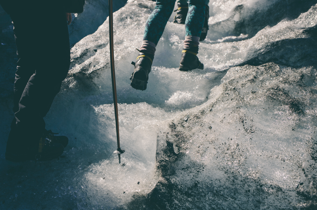 Crampons? Check. Fox Glacier Climbing. Photo by Of Two Lands