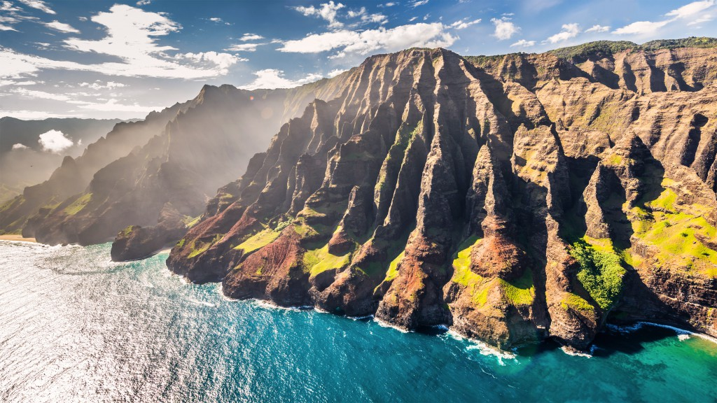 The majestic cliffs of the Na Pali coast. Photo by Ors Cseresnyes