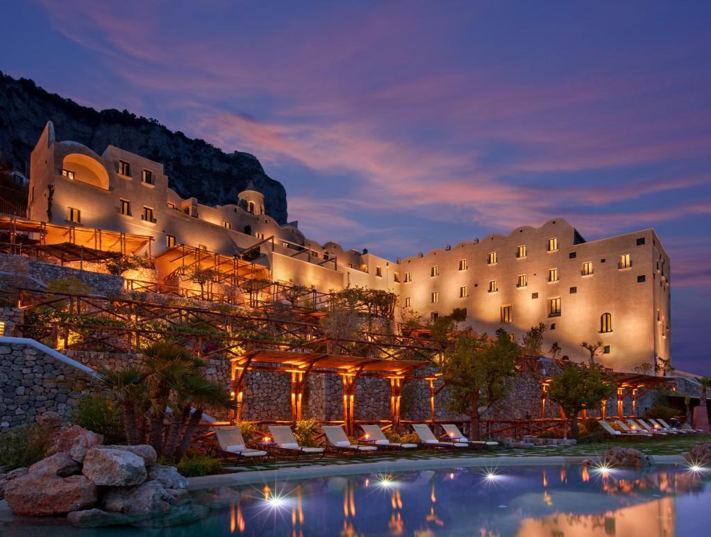 Monastero Santa Rosa Hotel, Conca dei Marini, Amalfi Coast. Photo courtesy of Monastero Santa Rosa