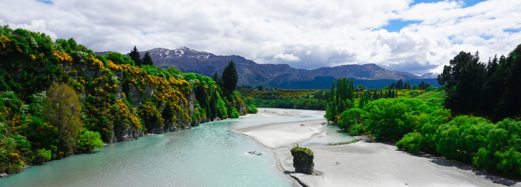 The Shotover river by day. Photo by Tomas Vohryzka
