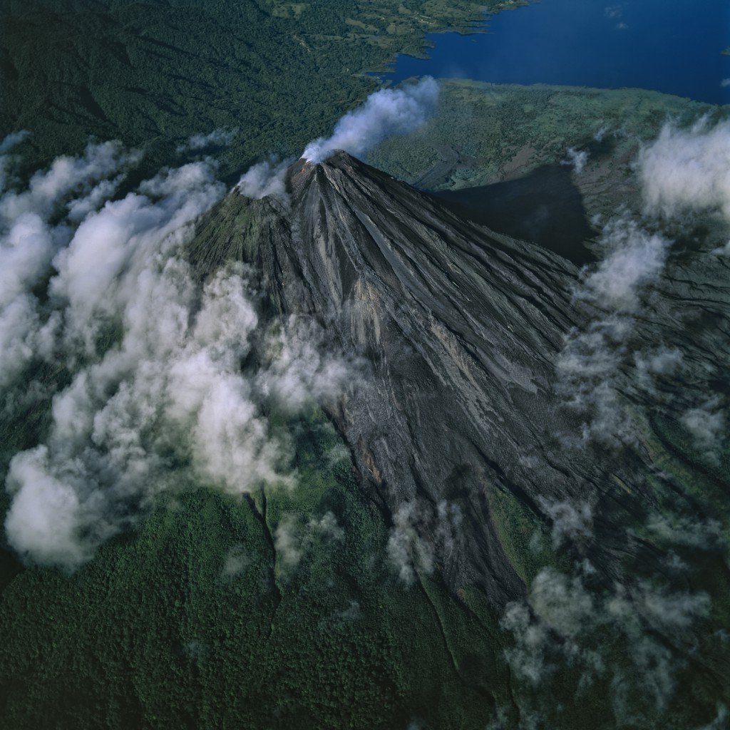 Arenal Volcano, Costa Rica This 1680-metre-high giant is the youngest and most active stratovolcano in Costa Rica. Scientists have dated its activity back 7000 years, though it lay it dormant for millenia before erupting again unexpectedly in 1968.