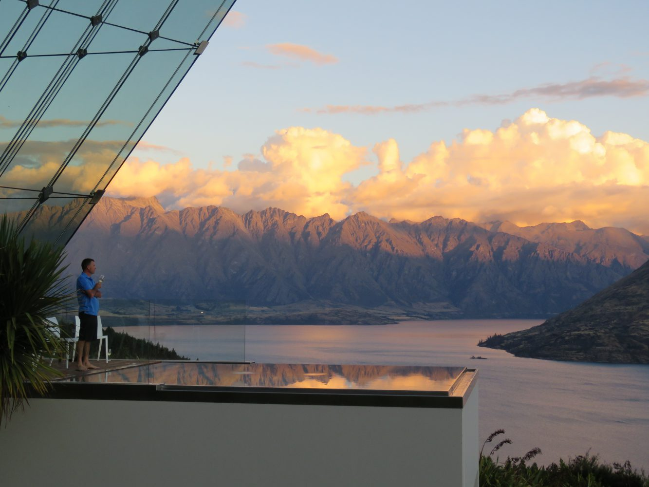 Jagged Edge: A Glass Rocket Ship Nestled in Queenstown