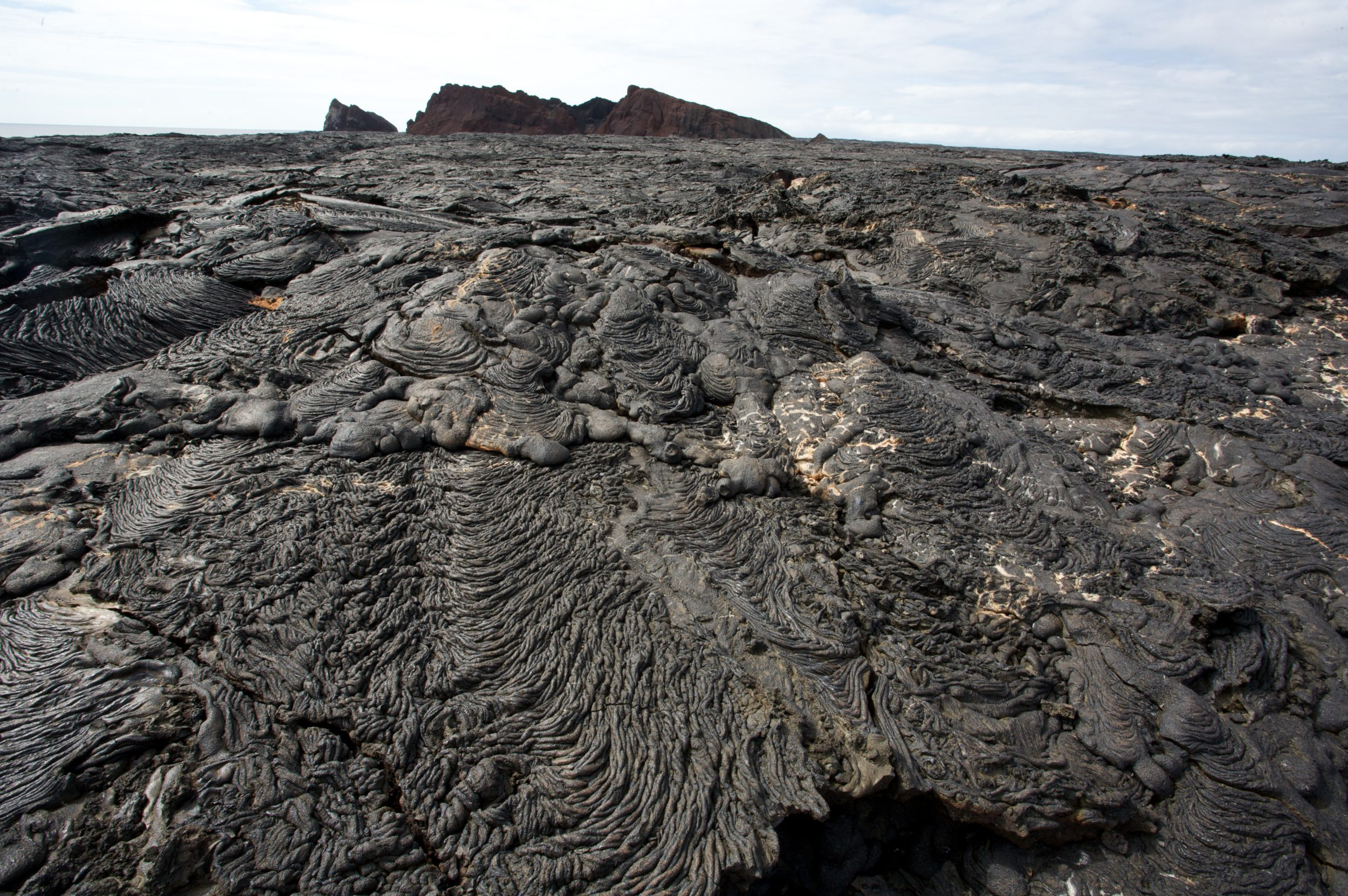 Rugged rocky terrain