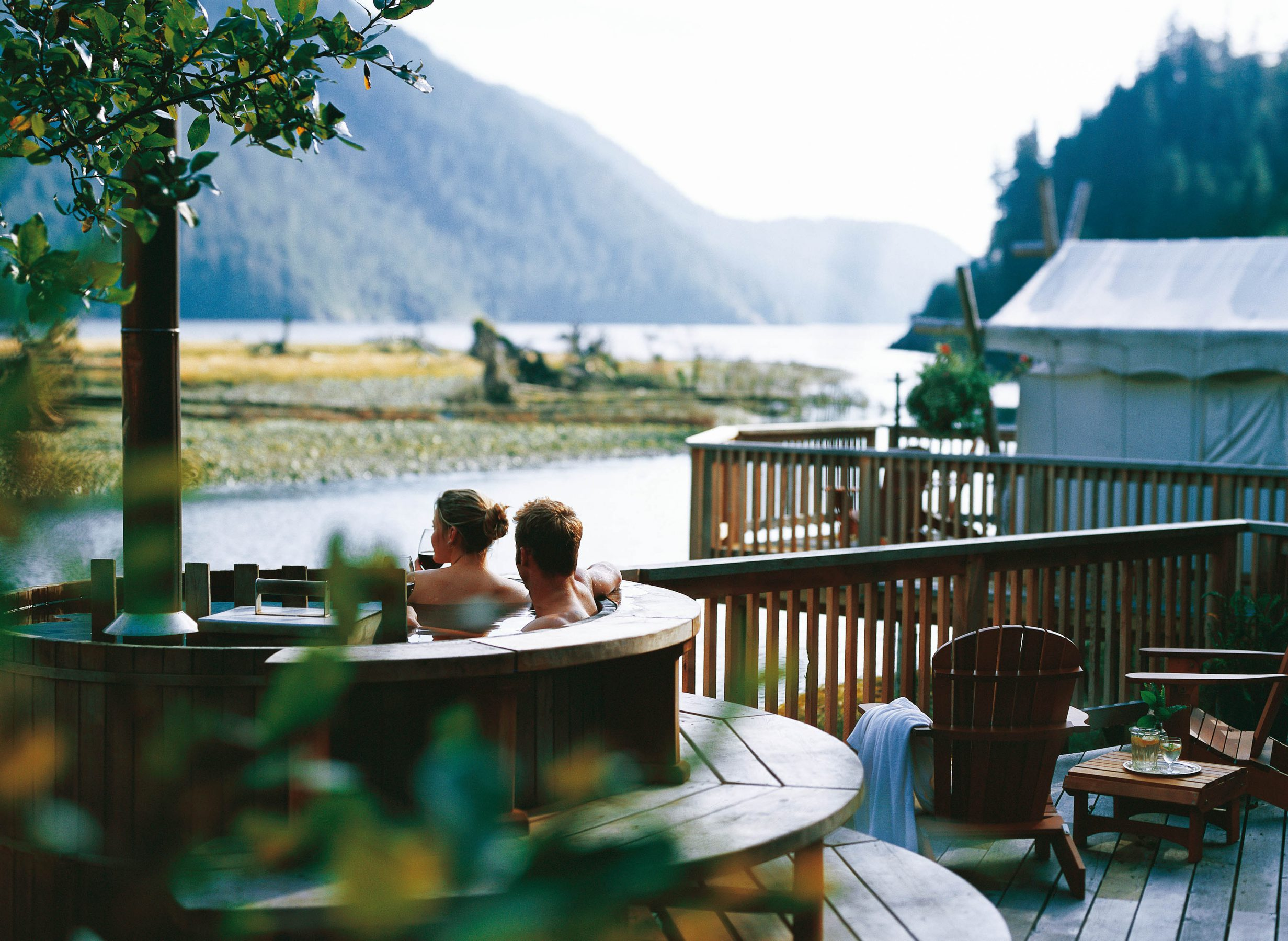 The Spa At Clayoquot Wilderness Resort