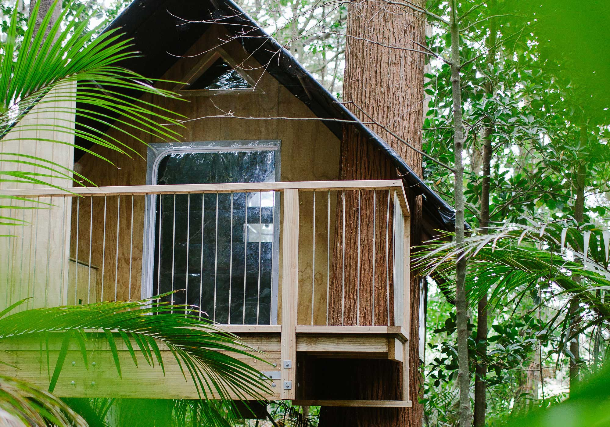 Totara Tree Glam Camping where guests can enjoy the sounds of New Zealand's unique flora and fauna.