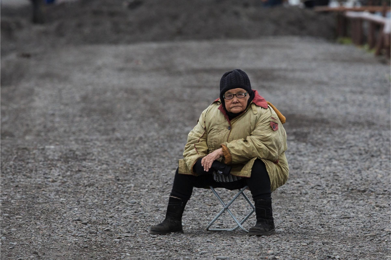A Chukchi woman inChukotka