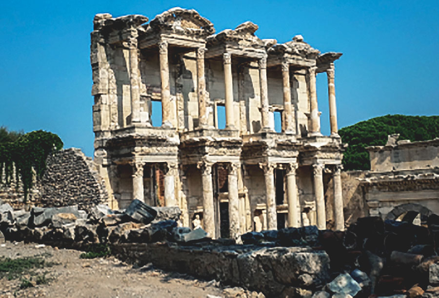 The Library of Celsus, Greece