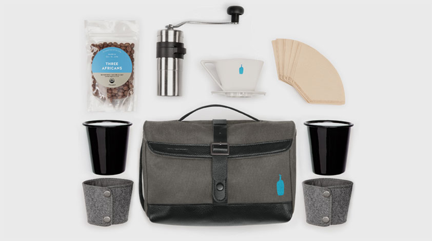 Blue Bottle Timbuk2 Travel Coffee Kit