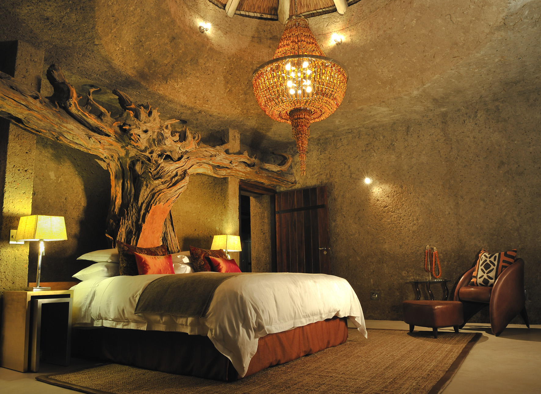 Amber Presidential Suite, Saba Saba Earth Lodge, South Africa