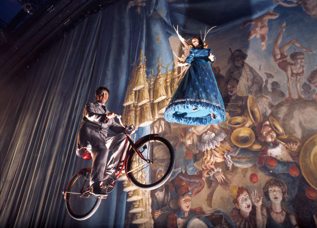 Cirque Du Soleil As one of the best-known shows in the world, Cirque du Soleil has performed to nearly 155 million people in the past 30 years. Its recipe — combining beautiful costumes, extensive production design and character-driven themes — has proven to be a real crowd puller. Cirque has come a long way since its beginnings as a theatre troupe in Quebec that impressed with stilt-walking, juggling, dancing and fire breathing. Today, it has artists from more than 50 countries and a permanent show in Las Vegas. Photo by Cirque du Soleil