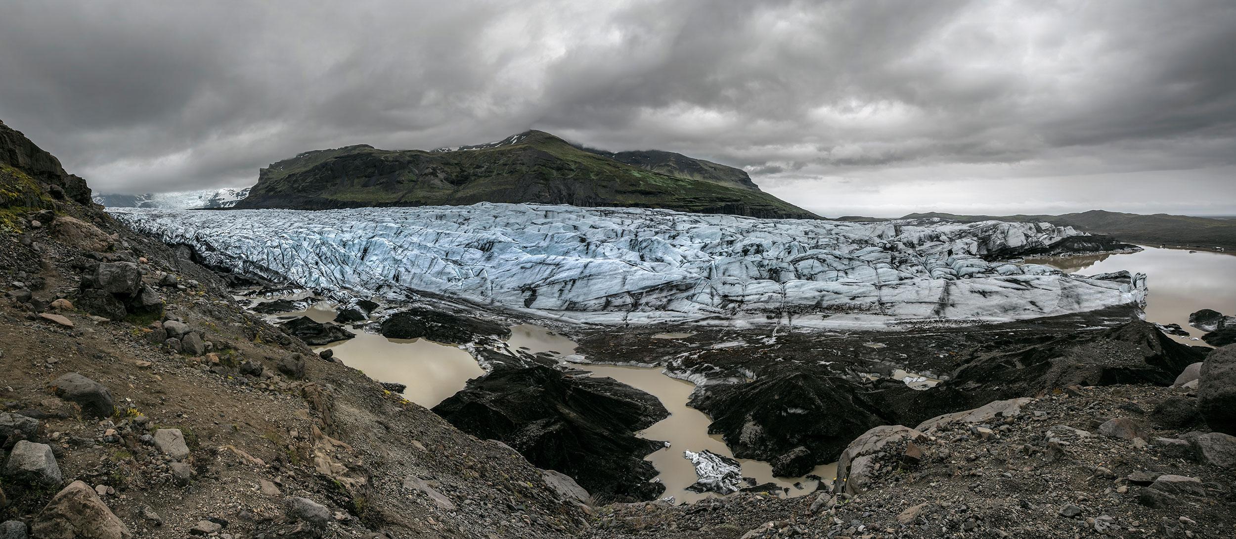 Svinafellsjokull, Iceland