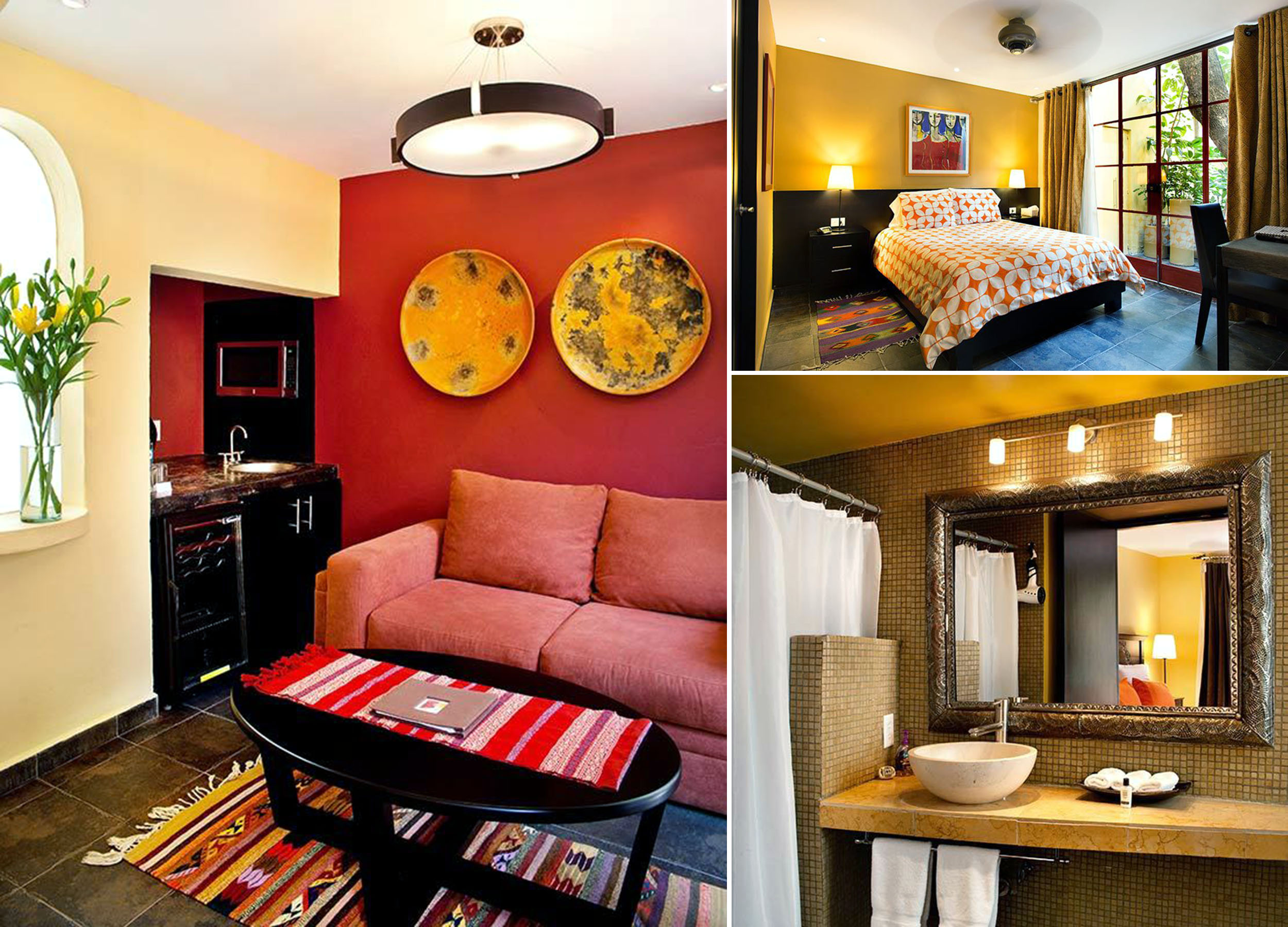 Feeling right at home: the Junior Suite at Condesa's Red Tree House.