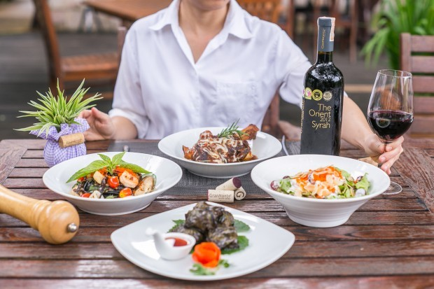 GranMonte's VinCotto restaurant offers a range of dishes to match the estate's wines.