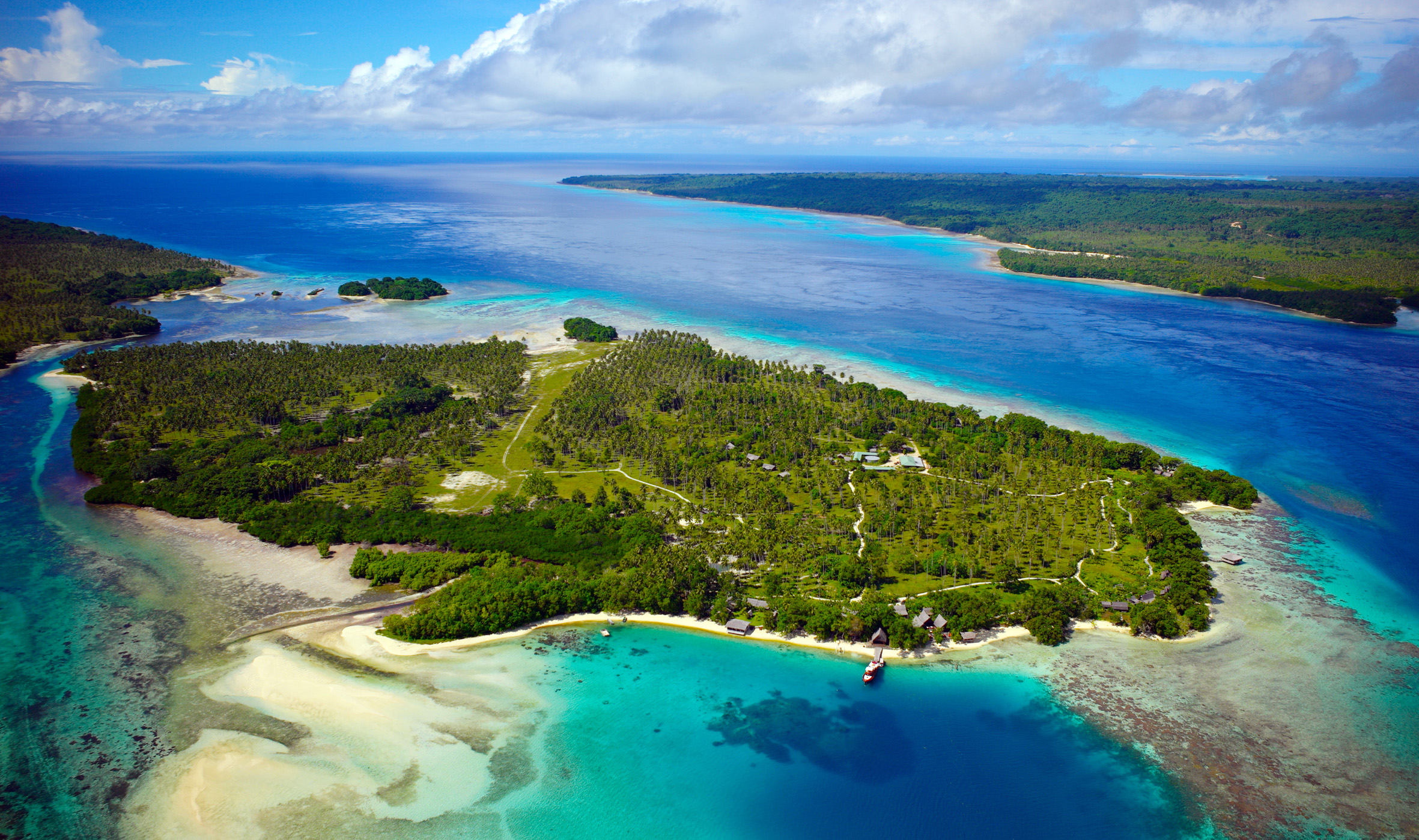 Ratua Private Island Aerial Photo
