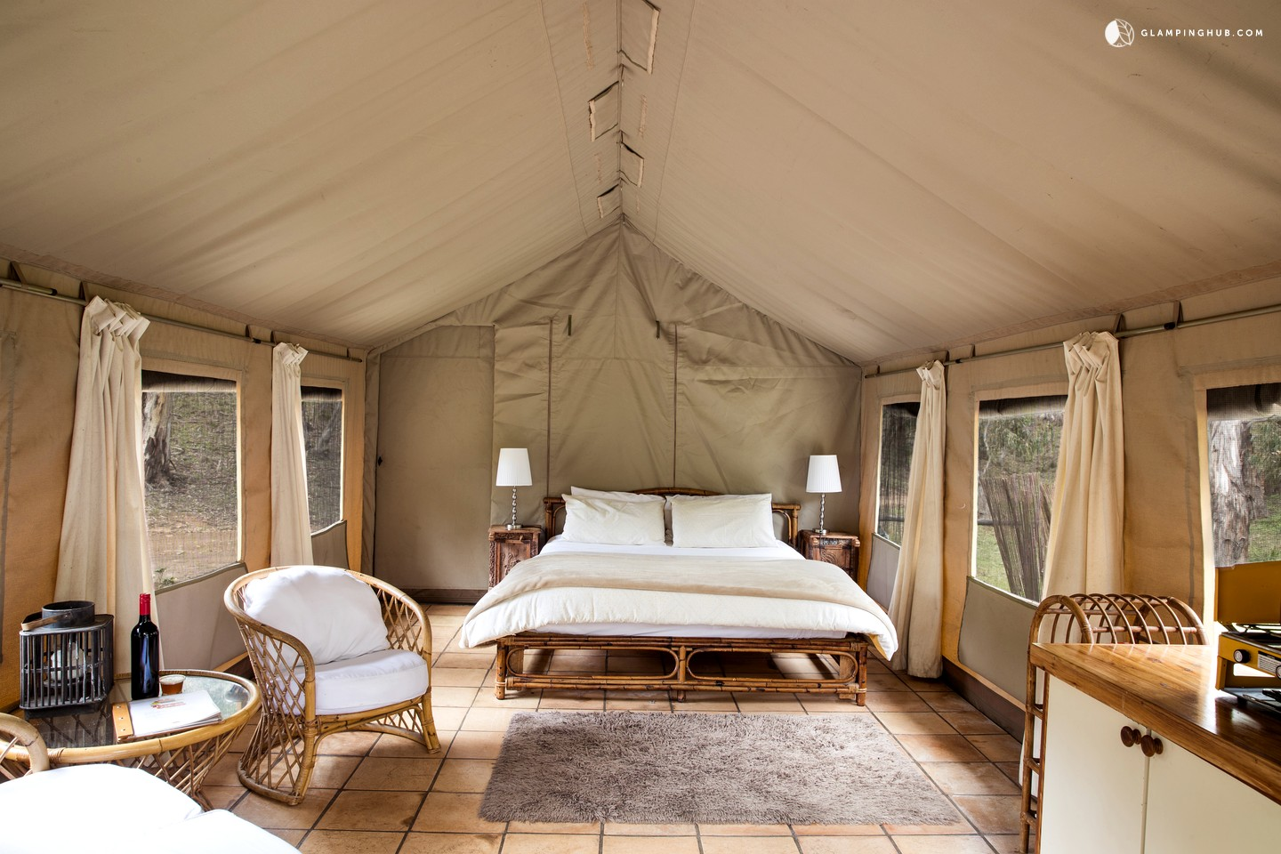 Rustic Luxury: <br>Glamping in Australia