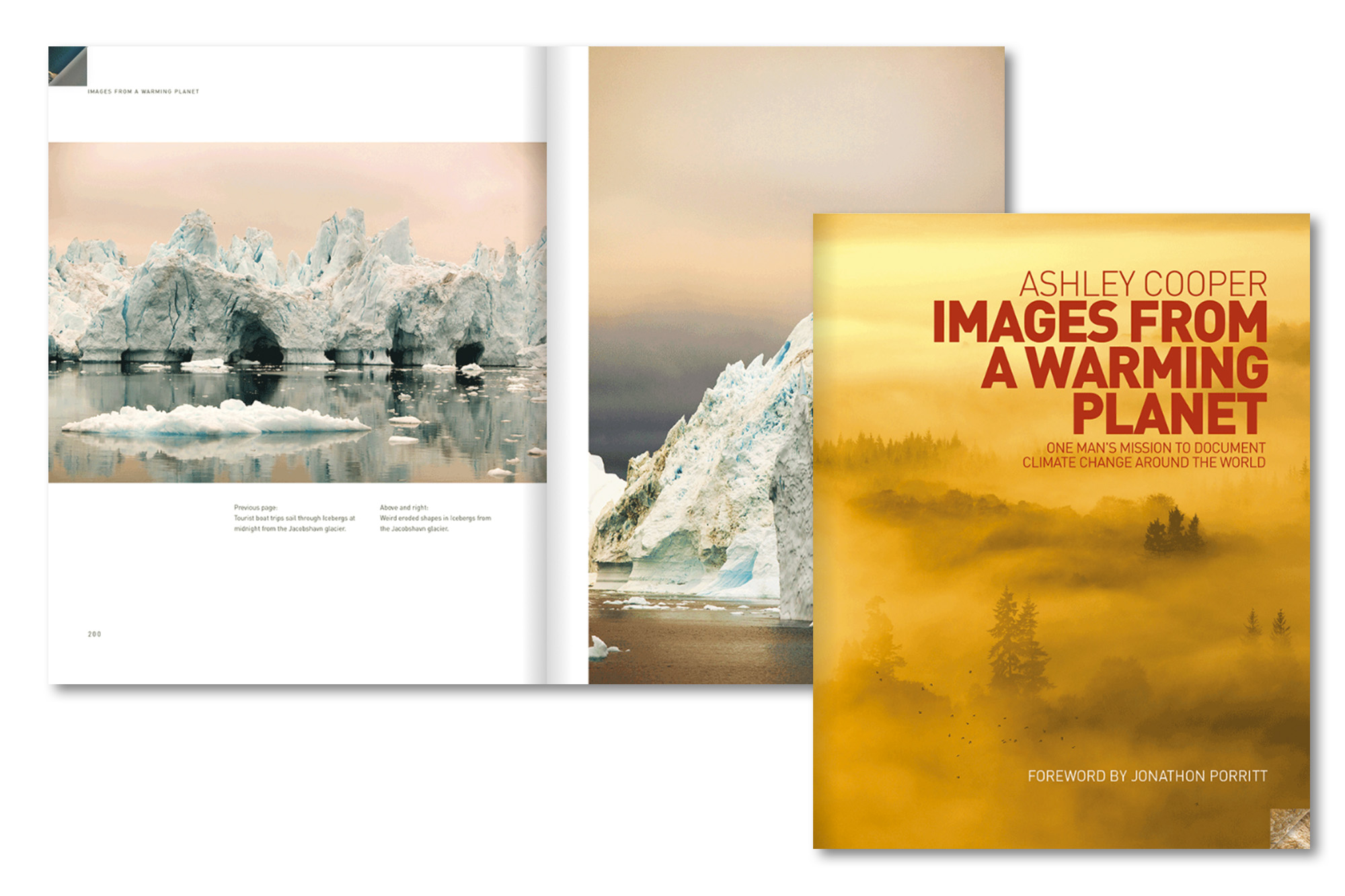 Images from a Warming Planet is available exclusively from Ashley Cooper's website