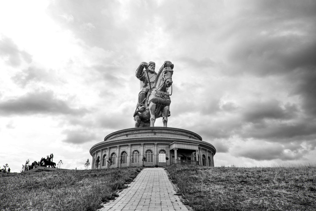 Legend has it that the Genghis Khan Equestrian Statue sits on the site where he found a golden whip in the 13th century.