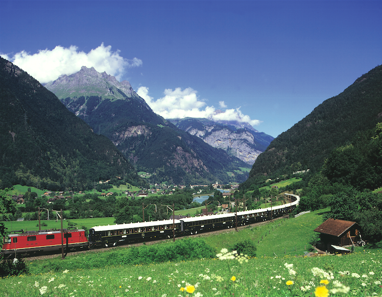 A Bygone Era Revived: The Venice-Simplon Orient Express