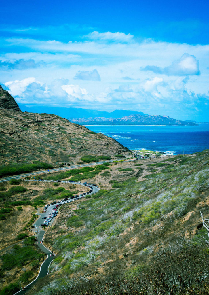 The Makapu'u Point Lighthouse Trail stretches for 2.5 kilometres, taking us past giant tide pools, a hidden blowhole and incredible coastal scenery. Reapply that sunscreen because we will soon be heading to the west side of the island, the least visited region of Oahu.