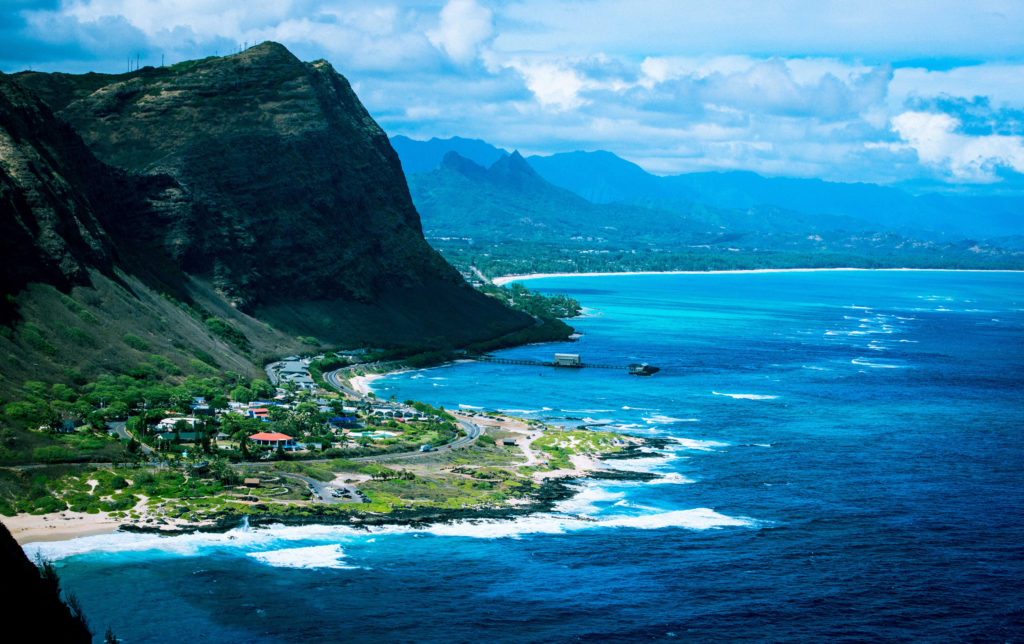 From here, we travel southeast to hike to the Makapu'u Lighthouse. This trail is great for beginners and offers some of the best whale watching on the east side of the island.