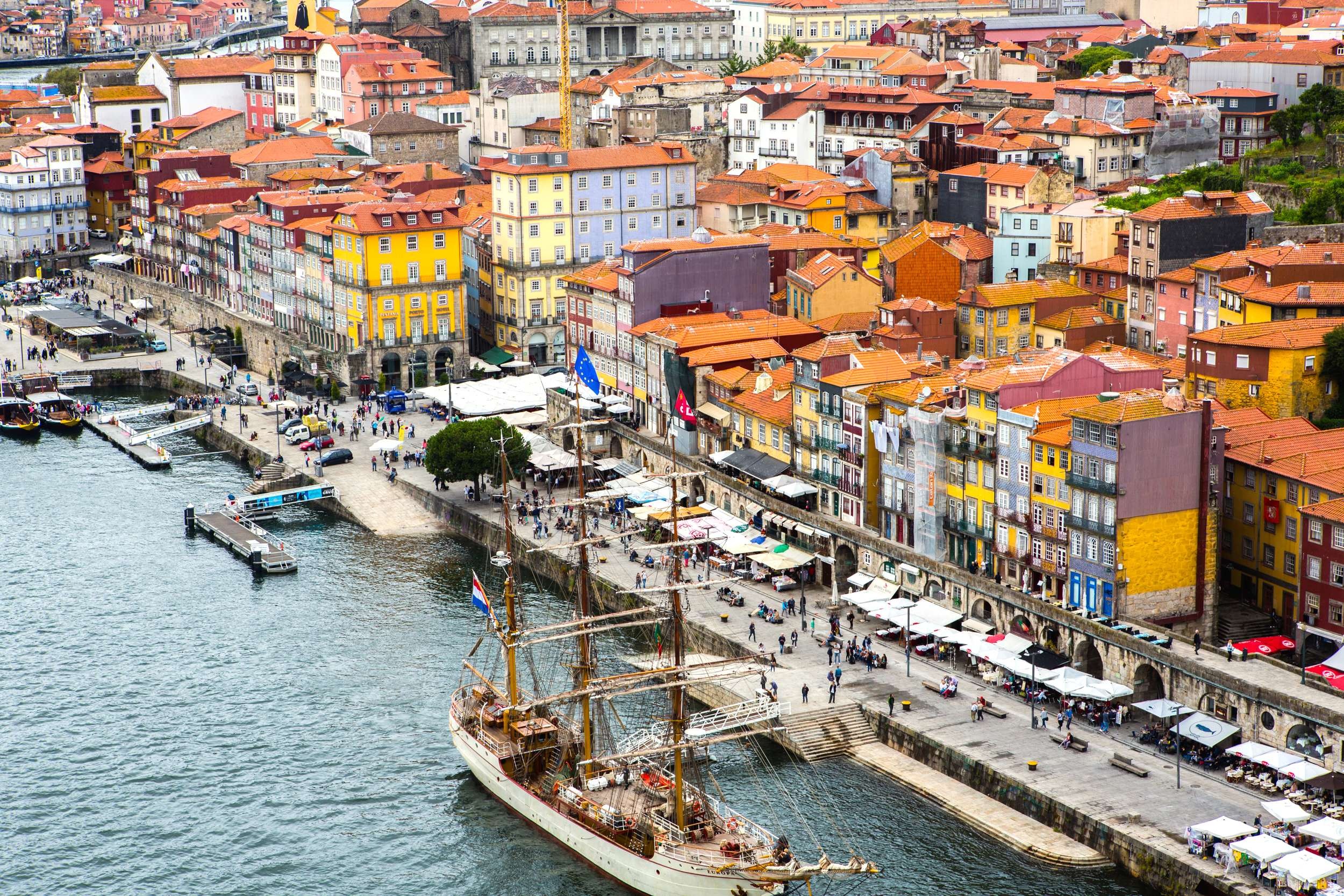 Porto's colourful facades attract visitors year round. Photo by Fran Hales