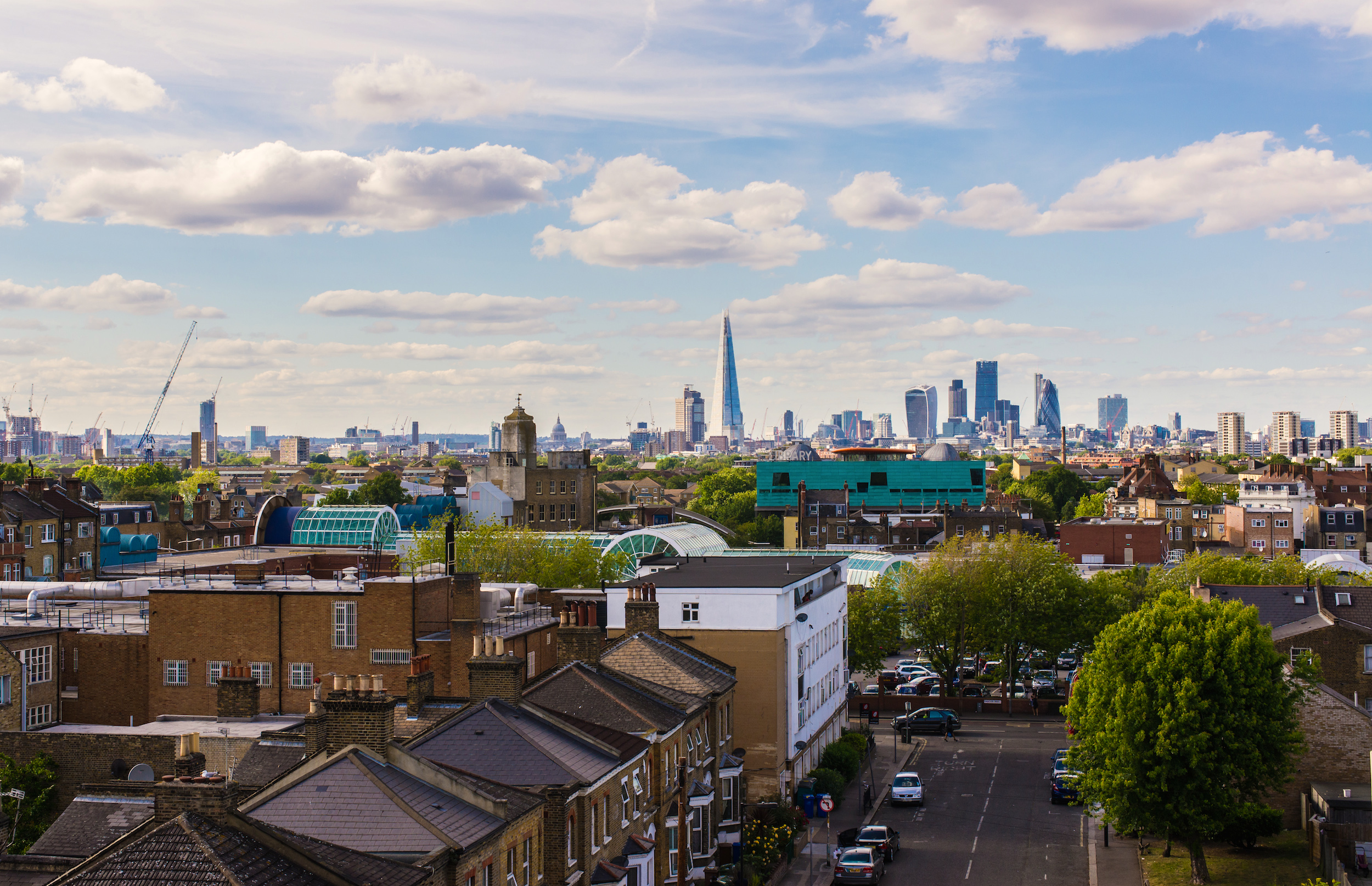 Situated to the south-east of the city, the district of Peckham looks towards the Thames and its iconic landmarks.