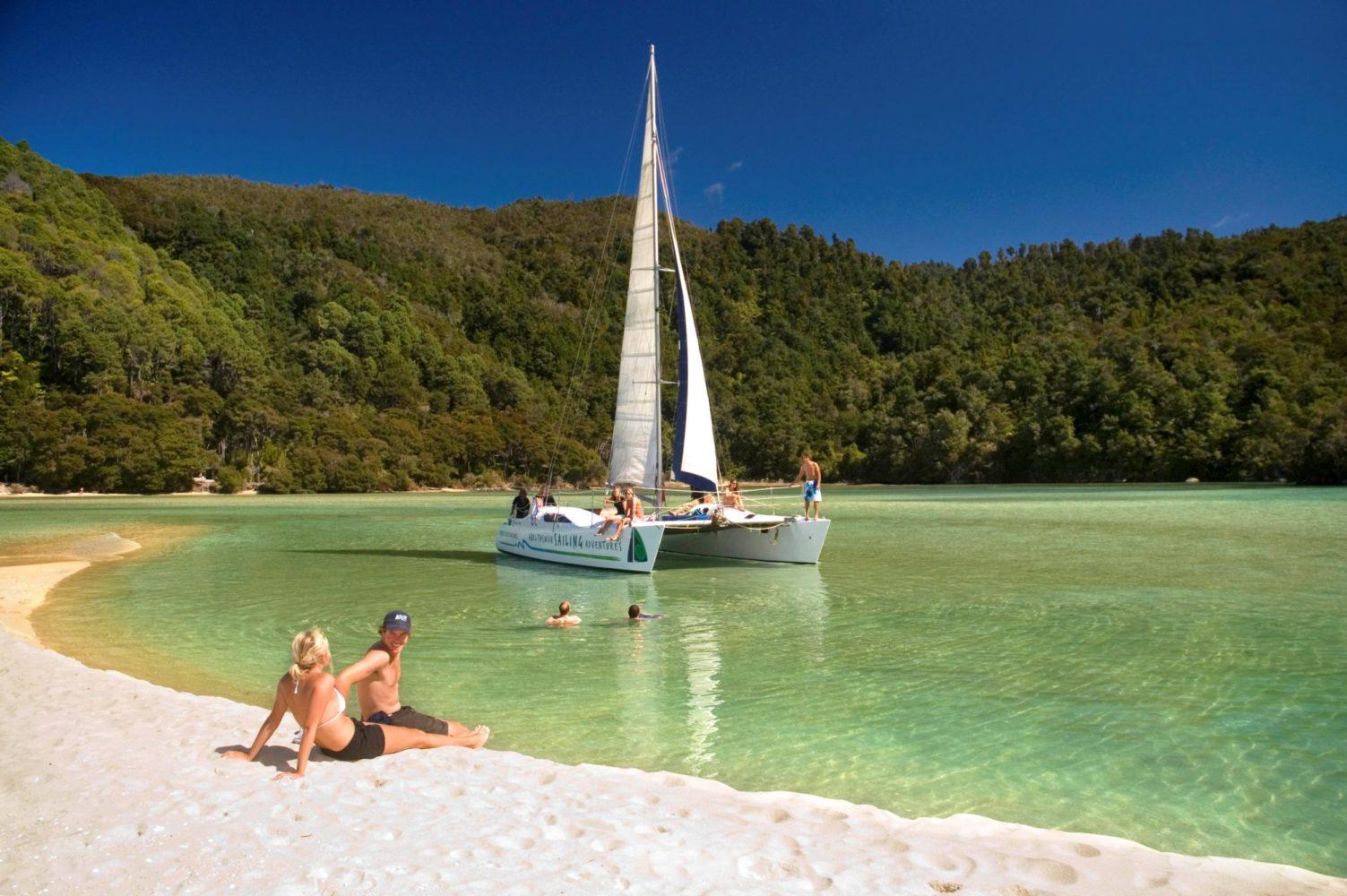 Full Day Sailing Tour in Abel Tasman National Park