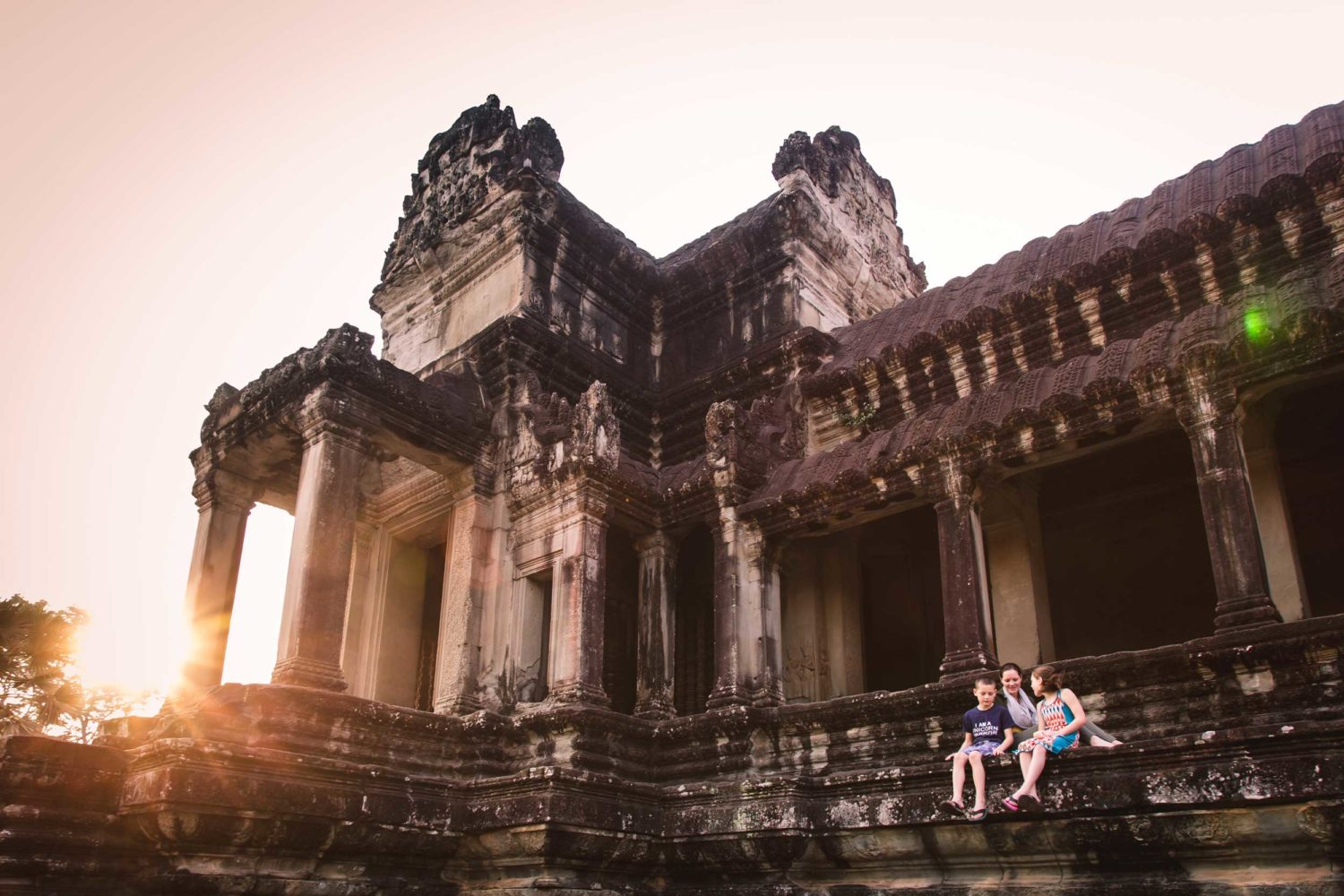Angkor Past and Present