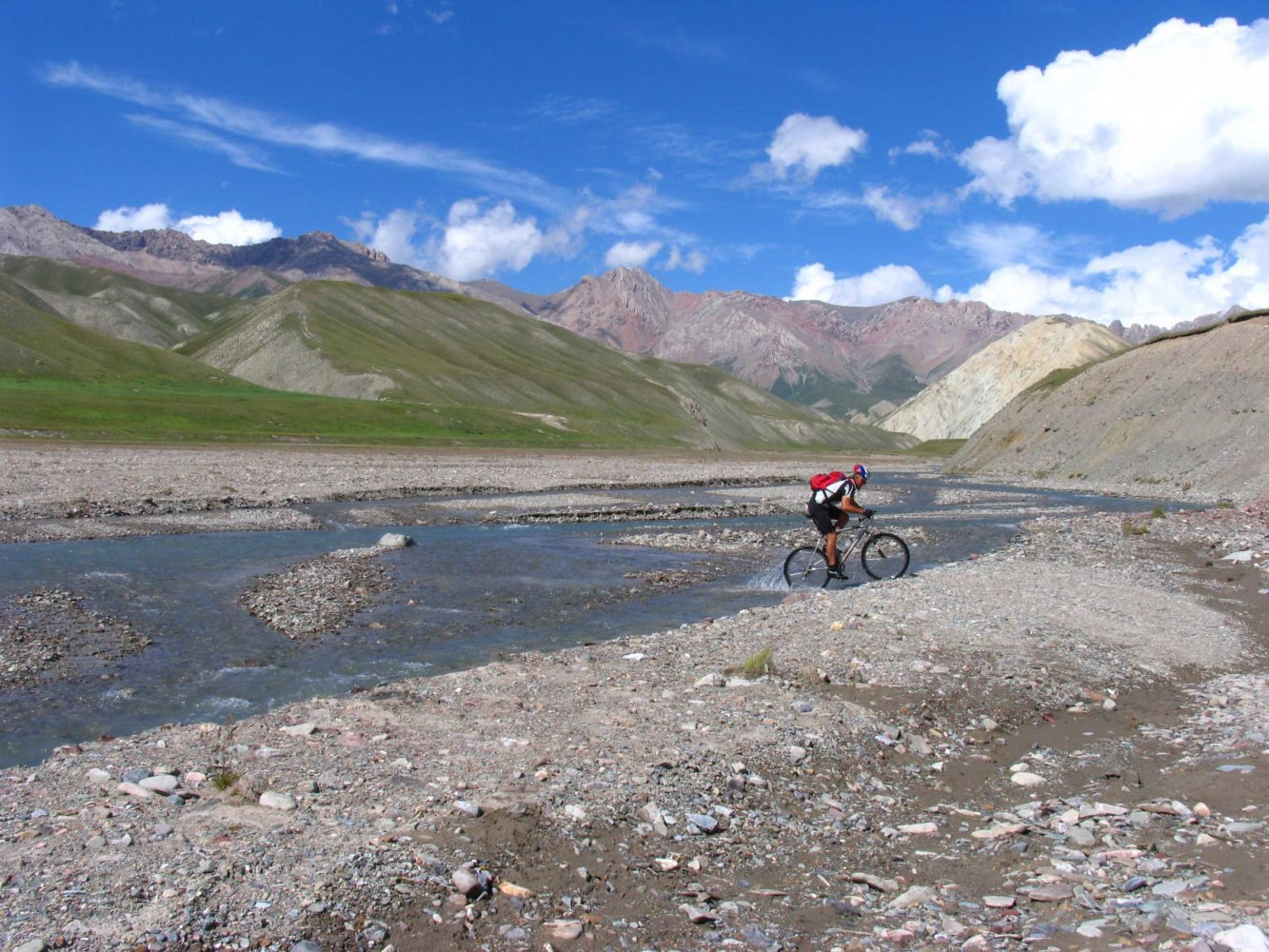 Mountain Biking in Kazakhstan and Kyrgyzstan