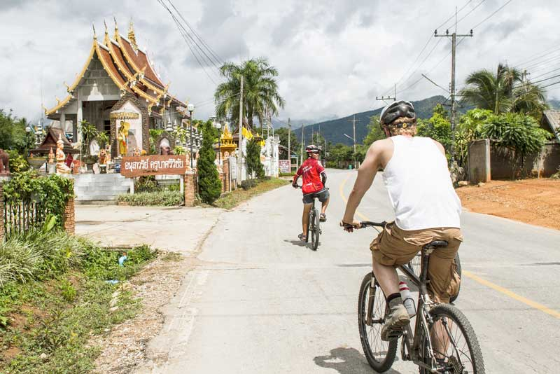 Chiang Mai to Chiang Rai by Bicycle
