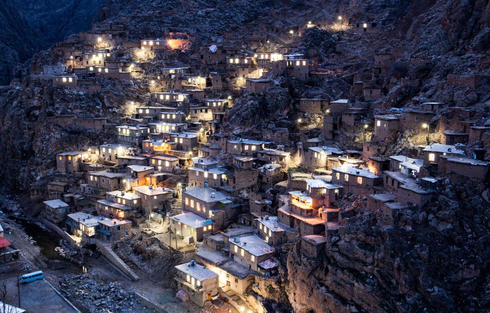 Paying Homage in Palangan, Iran