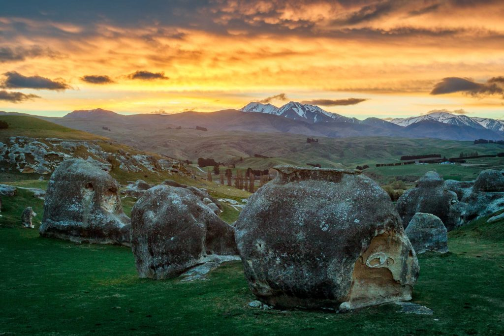 Impressions of the South Island, New Zealand