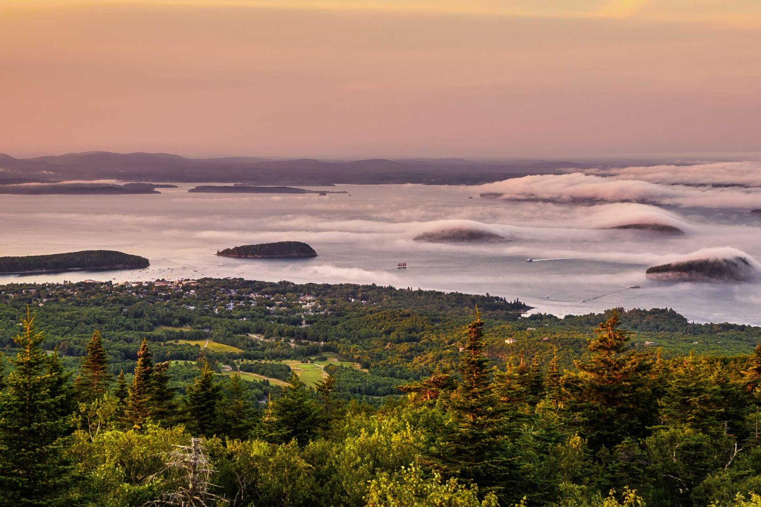 A Snapshot of Bar Harbor, Maine