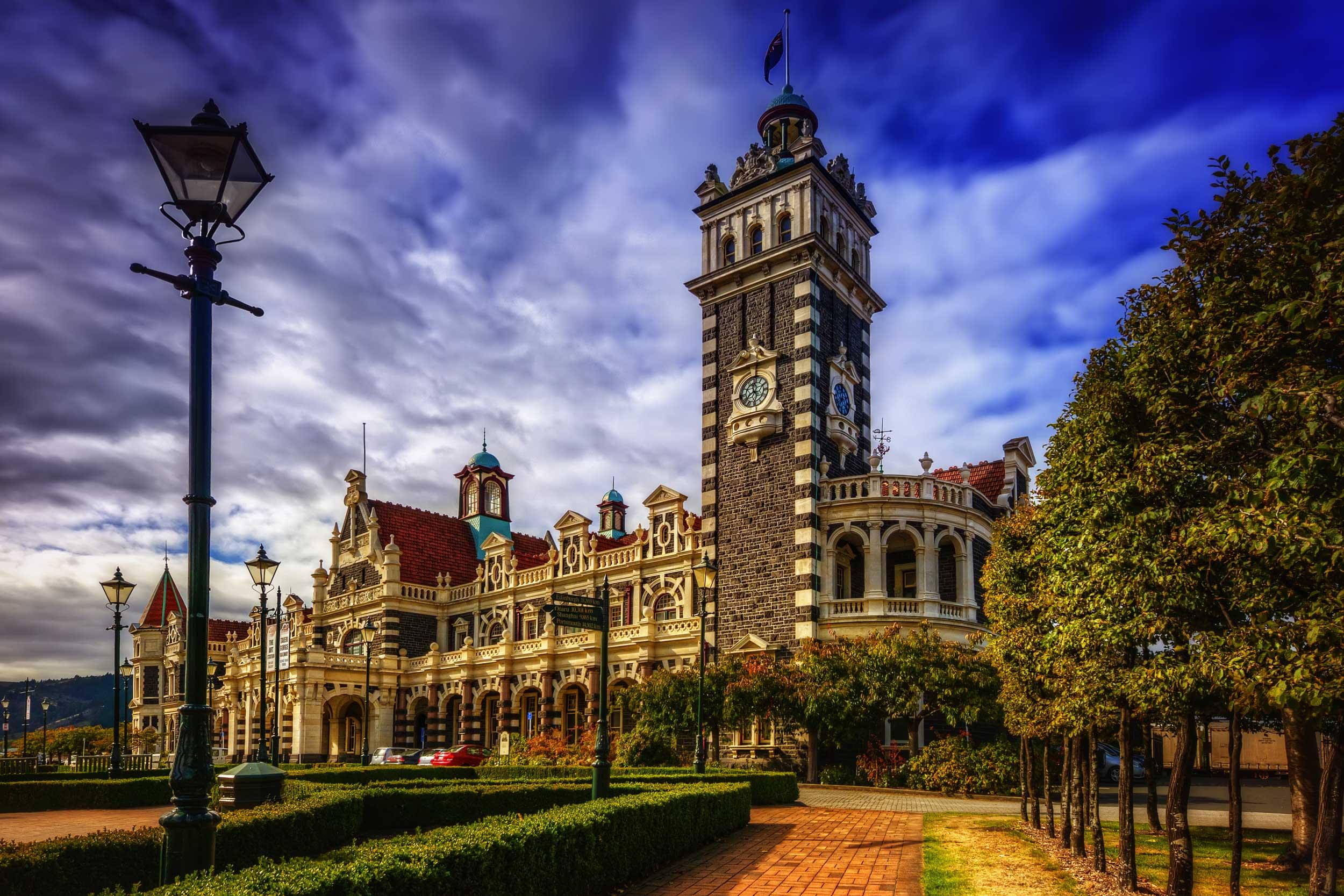 Old Flemish renaissance style building, Dunedin